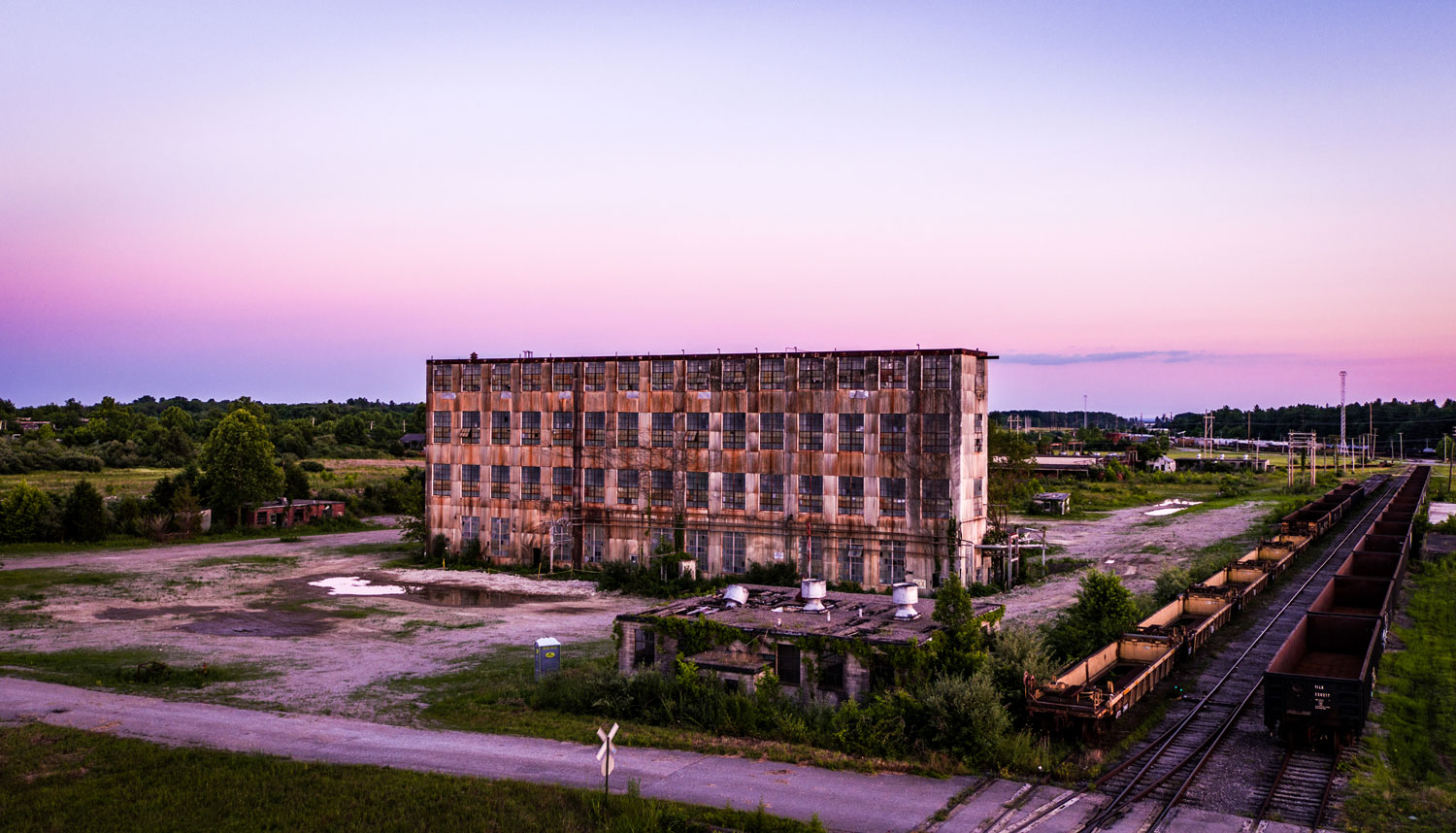 Abandoned Army Munitions Plant